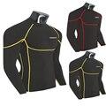 INM-UR mais CORES/BASIC Musculação Fitness Calças Justas de Compressão Base de Camada Tops Manga Longa de T para Homens Camisetas