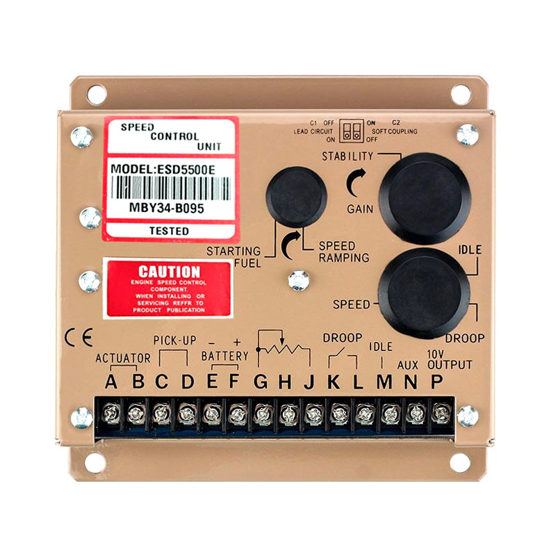 2PCS/LOT Generator Speed Controller ESD5500E+fast shipping (some parts Made in Germany) 2pcs fast shipping 100