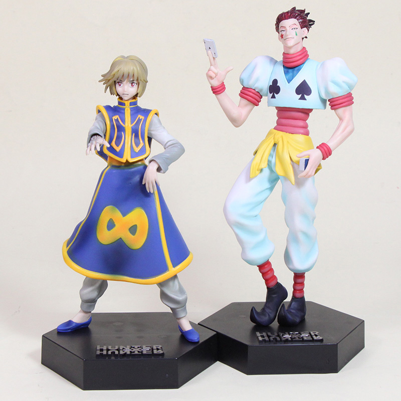20cm Anime Hunter X Hunter figure Kurapika Hisoka PVC action figure collectible model toys for Kids Gifts-in Action & Toy Figures from Toys & Hobbies on AliExpress - 11.11_Double 11_Singles' Day 1