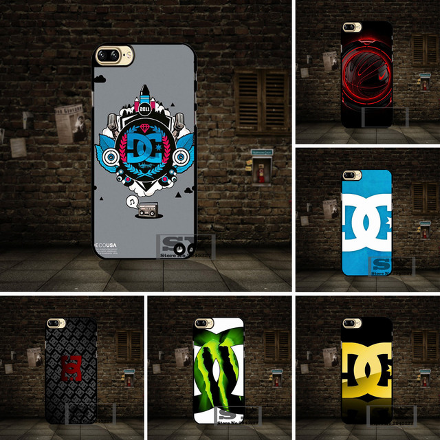 Hard Skin Red Dc Shoes Logo Cell Phone Case Cover For Xiaomi 3 4 4s