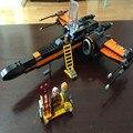[Bainily] Новый Первый Заказ Poe X-wing Fighter Звездные войны Строительные Блоки Игрушка в Подарок Совместимость Legoe Starwars