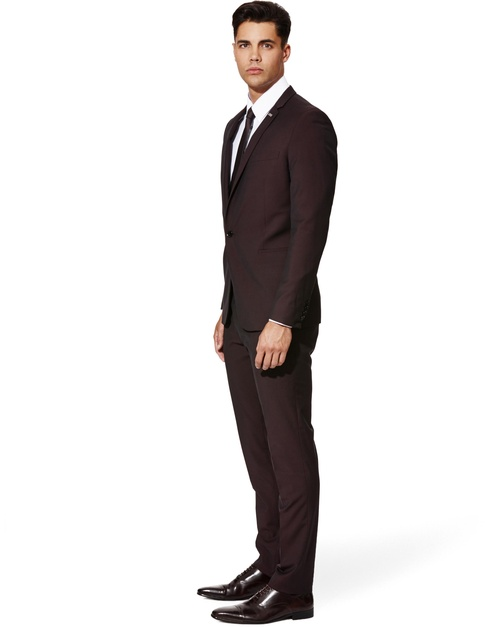 Custom Made Dark brown Men Suit Tailor Made Suit Wedding Suits For ...