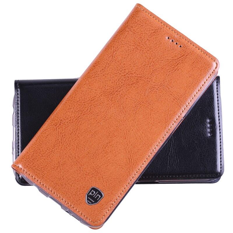 bilder für Top Qualität Echtes Leder Stand Flip Fall Für Lenovo Vibe Z2/K920 Mini Magnetic Handy Cover + Free geschenke