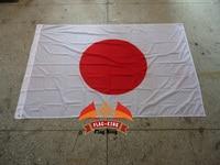 Японский национальный флаг, 100% полиэстер, 120*180 см, анти-УФ, цифровая печать, флаг король, Япония Страна Баннер