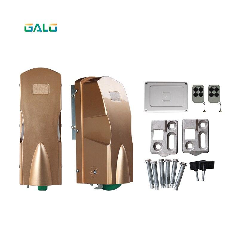 Double Rolling Wheel Swing Gate Opener Waterproof DC 24V Dual Home Automatic Gate/Door Engine Actuator