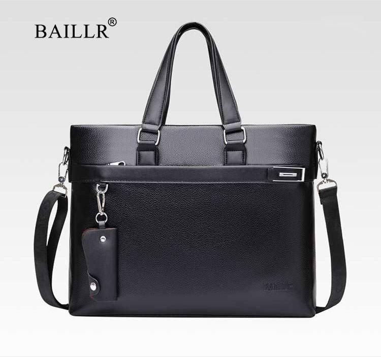 HTB1T5RGXyLrK1Rjy1zdq6ynnpXaV Promotions 2019 New Fashion Bag Men Briefcase PU Leather Men Bags Business Brand Male Briefcases Handbags Wholesale High Quality