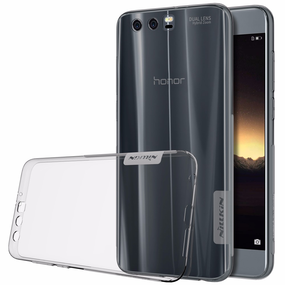 Huawei Honor 9 fall Huawei Honor 9 abdeckung NILLKIN Ultra Thin Transparent Natur-tpu Klar TPU Weiche Rückseitige abdeckung fall ehre 9
