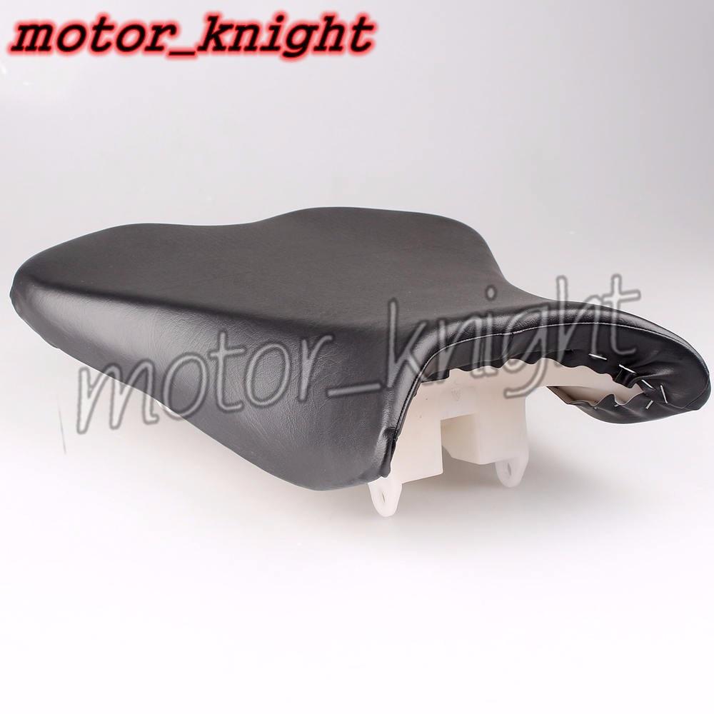 Black Front Passenger Seat Cushion Pillion For Kawasaki NINJA ZX6R 2009 2010 2011 2012 2013 2014 2015