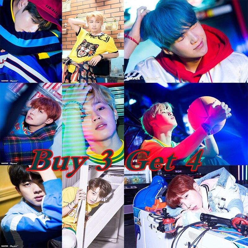 K-pop Posters BTS Members Wall Stickers Home Decoration Livingroom Bedroom Print 42*30cm ...