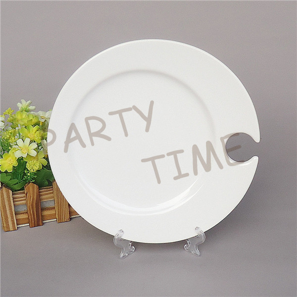& Buy plate with wine glass holder and get free shipping on AliExpress.com