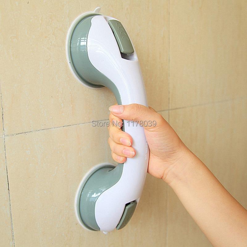 Us 15 47 10 Off Toilet Er Armrest No Drilling Anti Slip Handrail Portable Shower Grab Bars Safety Handrails For Bathrooms J16482 In
