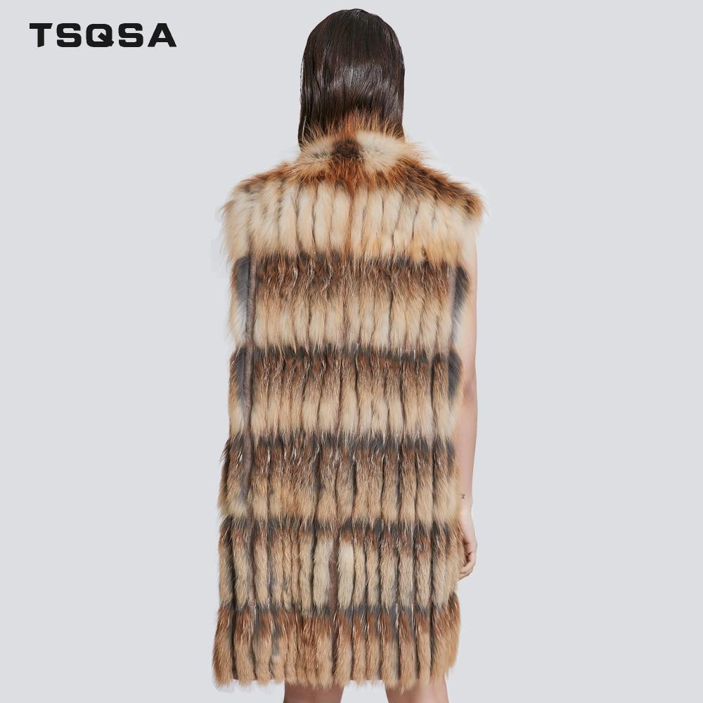 Mode Nouvelle Renard 2018 Survêtement En Manches Veats Naturel Gilet Camel Réel Tac1810 Tsqsa Femmes Veste Femelle Fourrure Zipper Fourure Lady xwRSOqAz