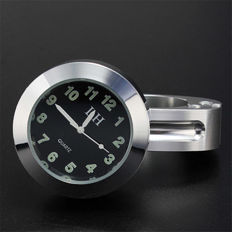 Universal Waterproof Motorcycle Motorbike Handlebar Mount Clock |Motorcycle handlebar clock