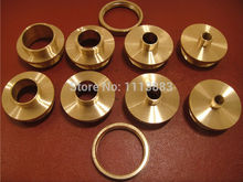 10PCS Brass Router Template Guide Bushings
