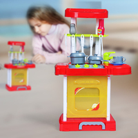 dollhouse miniature furniture pretend play dollhouse furniture sets toys kitchen play set children kitchen cooking toys food