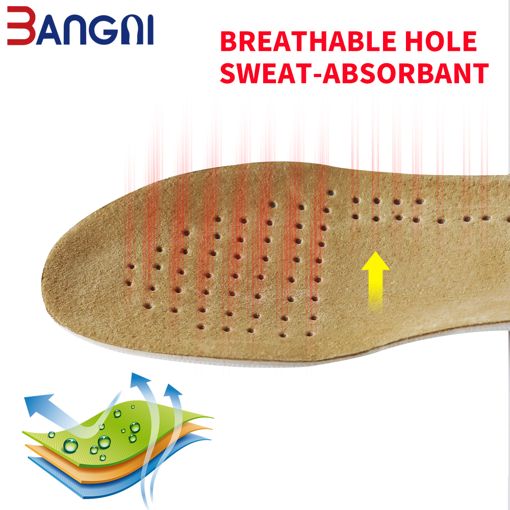 3ANGN 1.5 cm-3.5 cm de aumento de la altura de la piel plantillas de - Accesorios de calzado - foto 2