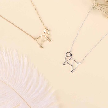 Dog Pendant Pug Necklace 1