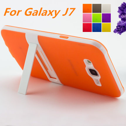 Ultra-thin PC Frame TPU Cover Silicon Case For Samsung Galaxy J7 Matte Phone Cases For Samsung J7 J700F J7000 fundas