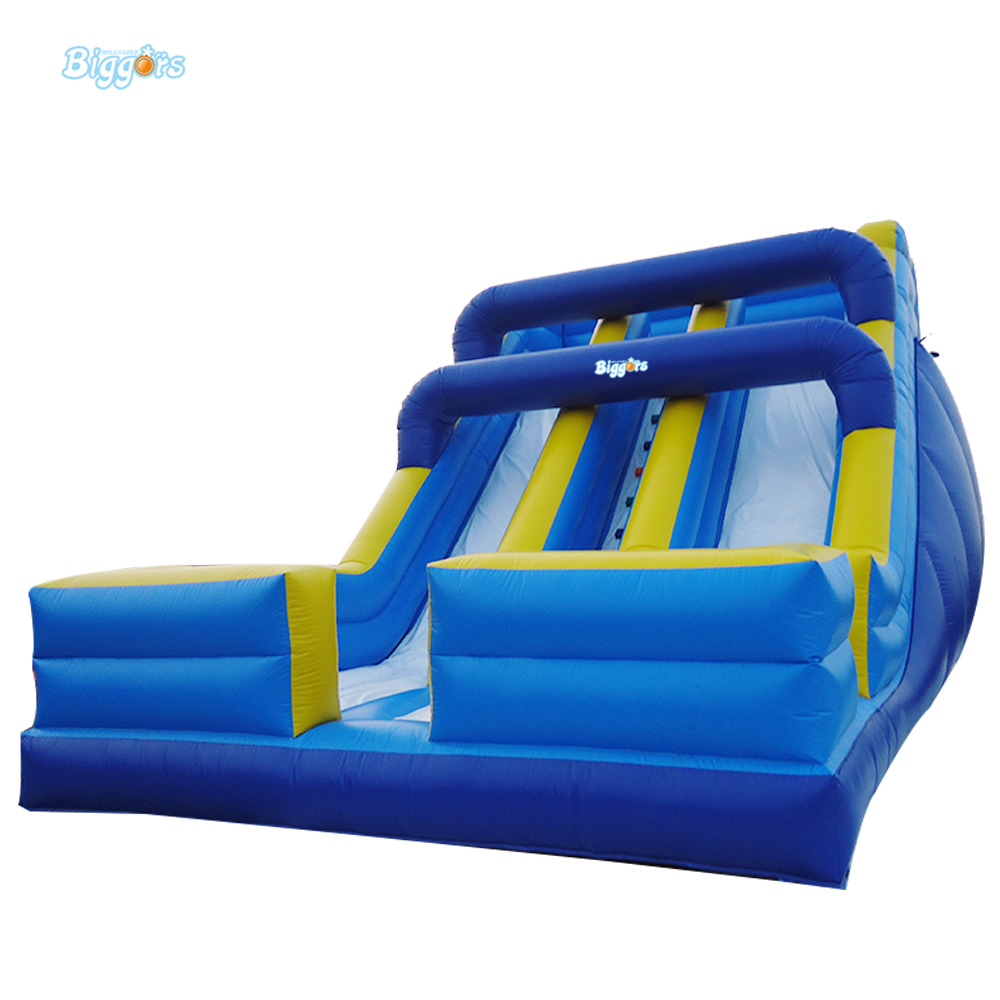 Inflatable Wet Dry Waterslide Kids Commercial Bounce House Bouncy Water Slide Hot For Sale