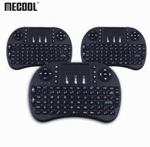 Mecool i8 Wireless Mini Keyboard English Keyboard with Touchpad Gaming Muti function Keyboards for PC HTPC Samsung Smart TV Box