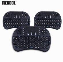 Mecool タッチパッドと i8 ワイヤレスミニキーボード英語キーボードゲームムーティ機能キーボード pc HTPC サムスンスマートテレビボックス