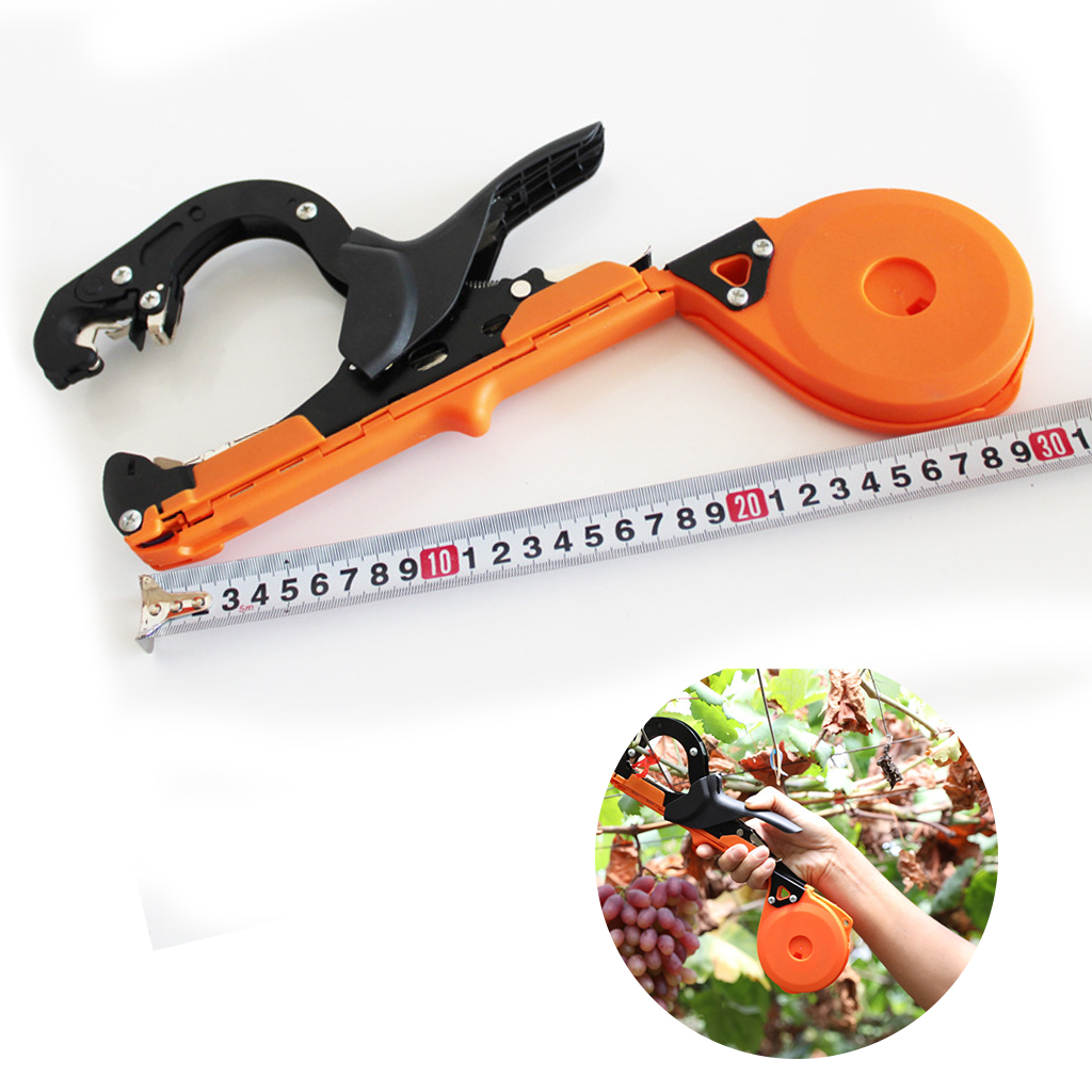 Outil de jardin plante attachant Tapener ruban Machine outils à main attachant vigne branche Machine attachée brindille cerclage végétal raisin tige