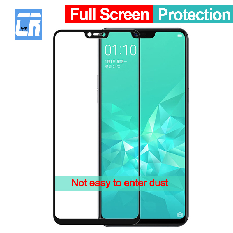 Full Cover Tempered Glass For OPPO R9 R9S R11 R11S Plus Screen Protector Film For F5 F7 A3 A3S A5 R15 Hardness Protector Glass
