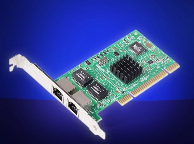 2-Ports RJ45 PCI Gigabit Ethernet Lan Network Card 10/100/1000Mb for Intel 82546