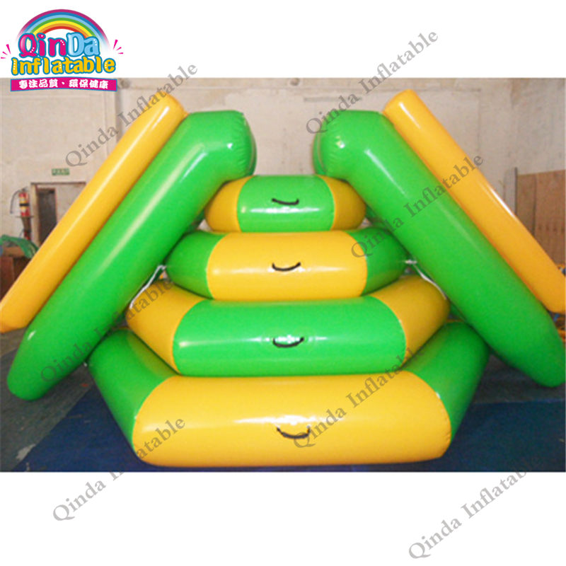 цены Inflatable Swimming Pool Slides Amusement Water Park Slide,2 lanes slide Water Sports games