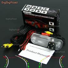 BigBigRoad Car Intelligent Dynamic Track Rear View Camera Reversing Camera  For Hyundai Sonata EF MK4 Facelift 2001~2005