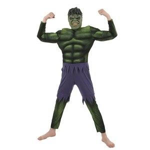 Image 2 - ขายผู้ใหญ่ชายกล้ามเนื้อ Hulk ฮาโลวีนเครื่องแต่งกาย Marvel Superhero แฟนตาซีแฟนซีชุดคอสเพลย์เสื้อผ้า