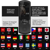 New Languages Instant Translator Voice iFLYTEK 2.0 AI Instant Traductor With 13Mp Camera Support 32 Country Languages For Travel
