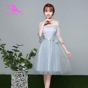 Image 3 - AIJINGYU 2021 2020 kız seksi balo kıyafetleri kadın elbisesi düğün parti gelinlik giydirme BN980