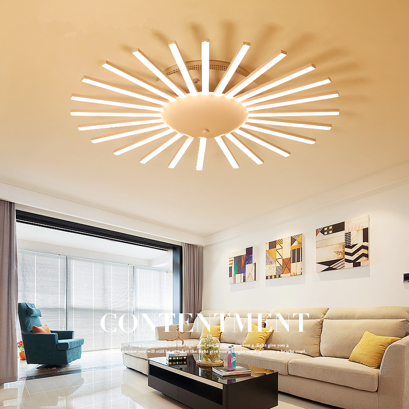 Nordic Living Room Ceiling Lights Simple Post Modern