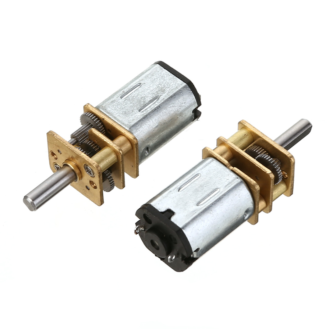 1pc Electric Mini DC Geared Motor N20 30/600/1000/1200RPM DC3/6/12V Micro Deceleration Gear Reducer Motors For Car Robot Model