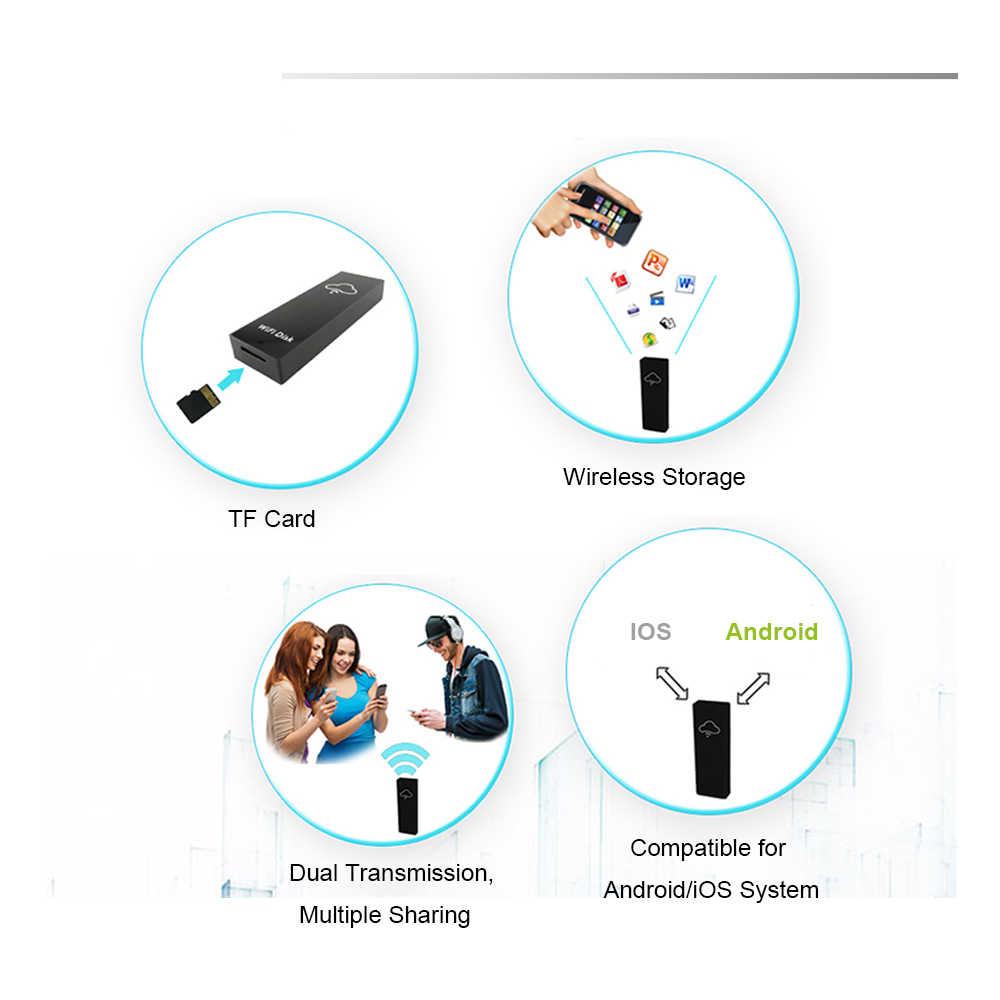 Wi-Fi жёсткий диск запоминающее устройство коробка Wi-Fi Cloud Storage Box флеш-накопитель для TF/устройство для чтения Micro-SD карт общего доступа к файлам для работы в сети