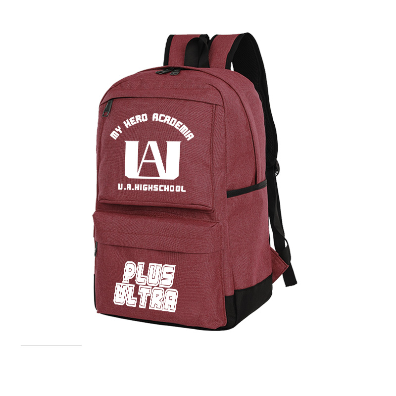 My Hero Academia Student Backpack Anime Schoolbag Leisure Oxford Computer Bag Women Men School Bags For Teenage Girls Boys 16 inch anime teenage mutant ninja turtles nylon backpack cartoon school bag student bags double shoulder boy girls schoolbag page 8