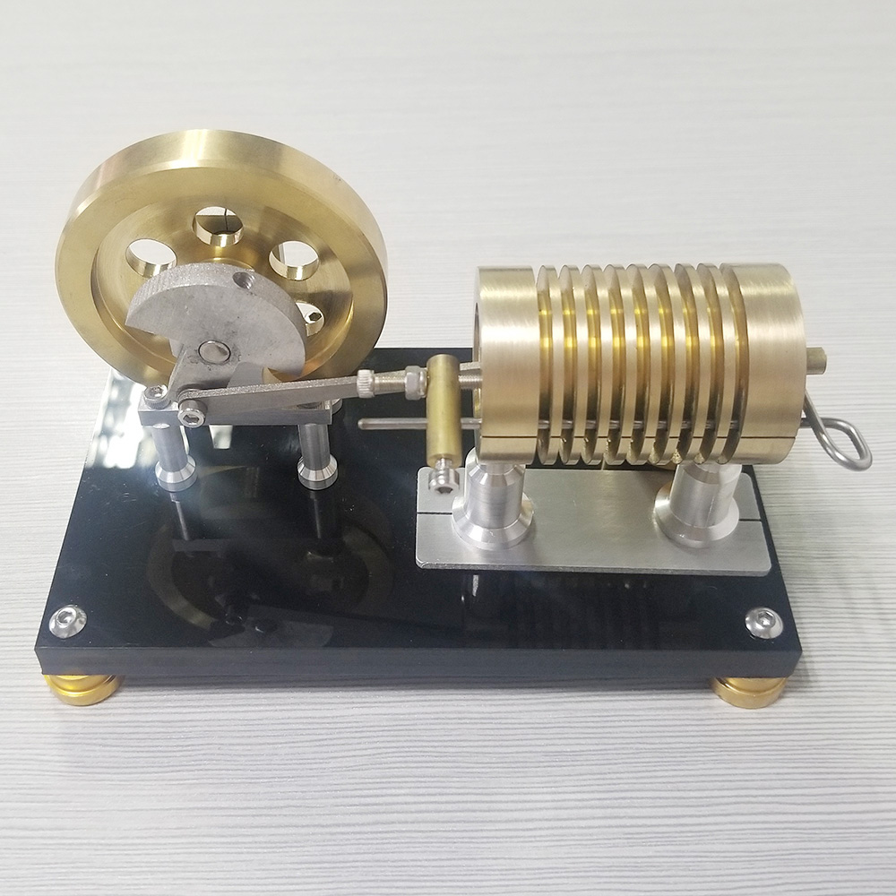 Stirling engine steam engine model miniature science experiment toy birthday present.