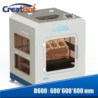 Новые Технология супер большой 3d принтер высокого стабильная Высокая точность 3d печатная машина D600 с E3DV6 400 градусов двойной экструдер