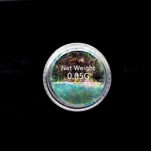 Image 5 - זיקית כרום פתיתי לציפורניים יוקי פאייטים עבור נייל פתיתי Unicorn ציפורניים אמנות מראה כרום Spangles נייל גליטר SF2034