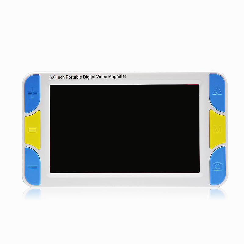 5 inch LCD portable magnifier Low Vision Video Magnifier electronic reading aid Digital Handheld Magnifier