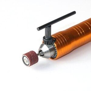 Image 4 - Tungfull Flexibele Flex Dremel Rotary Tool Elektrische Grinder Flexibele As Extension Lijn 6 Mm Boorkop Graveermachine Slang