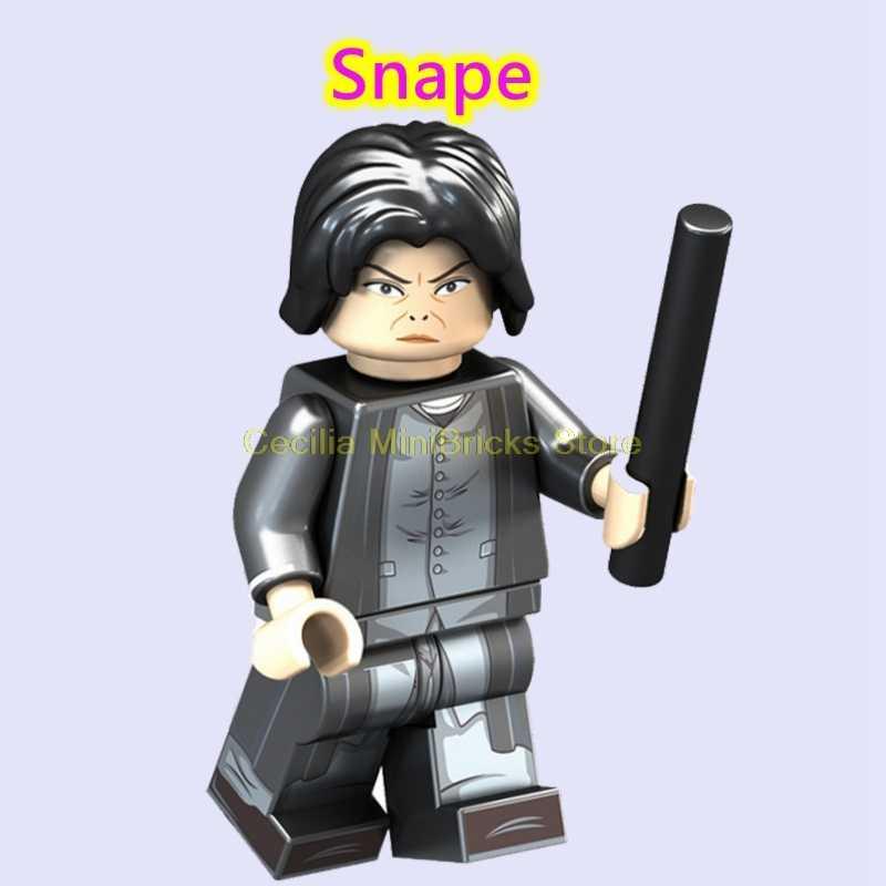 Legoing 71043 Гарри Поттер Дары смерти Снейп Лорд Волдеморт Гермиона строительные блоки игрушки для детей Legoing Movie Figures