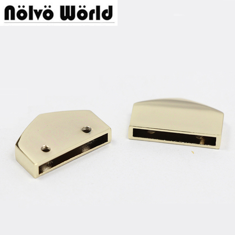 50pcs 4 colors 2.5cm 1 inch decoration end clips by screws,high quality straps tail clasp accessory цены