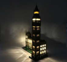 цена на Creator Expert London Big Ben LED Light Set For Compatible IEGOset 10253 17005 Building Blocks bricks Toys Christmas Gifts