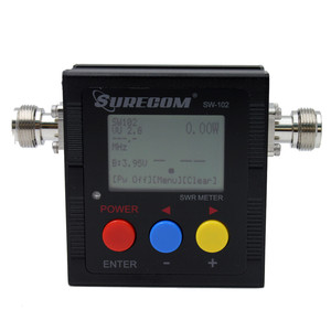 Image 4 - Доставка из Москвы! ANYSECU SW 102 125 520 мГц цифровой VHF/UHF Мощность и КСВ метр SW102 для портативных радиостанций UV 82 UV82