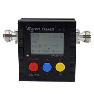 Image 4 - Suresom SW 102 125 520Mhz Digital VHF/UHF Power & SWR Meter SW102 For Handheld Radio SWR & POWER WATT METER