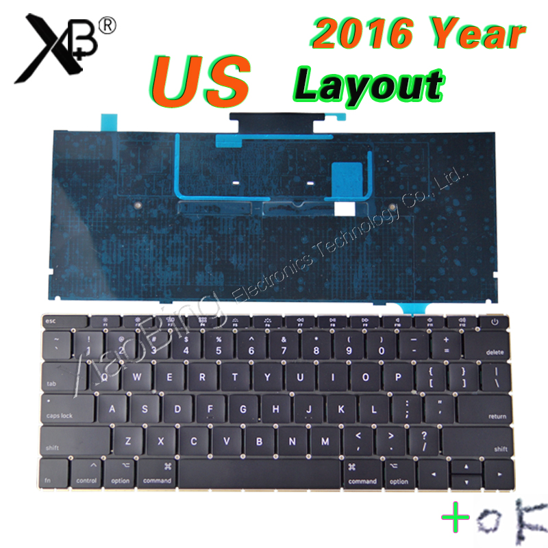 все цены на Early 2016-2017year NEW A1534 Keyboard US for MacBook Retina 12