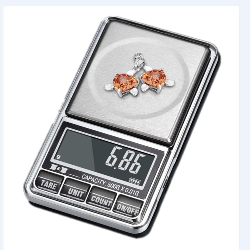 Цифровые Мини-весы 0,01 г, электронные ювелирные весы для золота с ЖК-дисплеем, карманные весы с подсчетом, весы с питанием от USB, весы, весы 100-600...