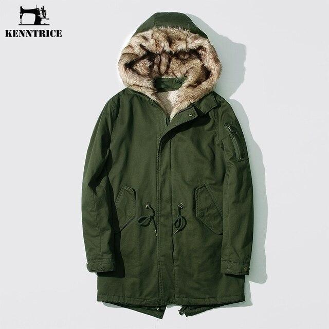 Olive green padded coat